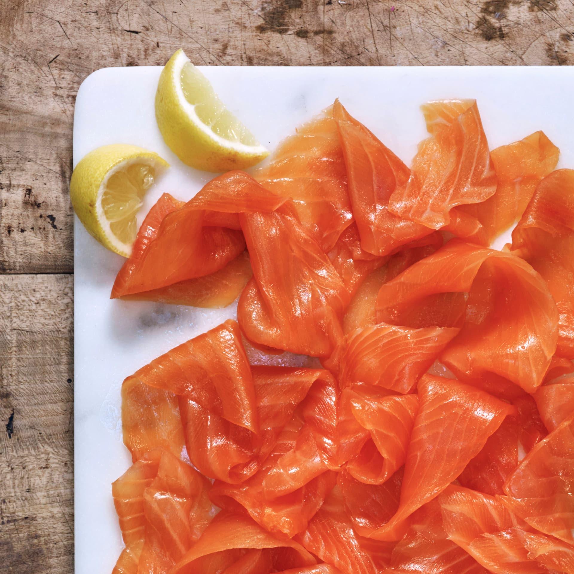 Smoked Salmon Canape Ideas